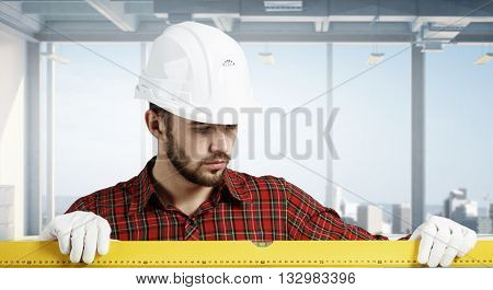 Young engineer man