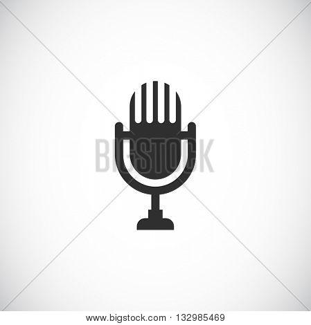 microphone retro web icon