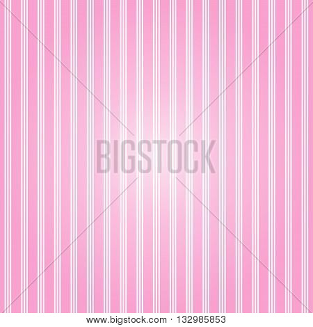 Pink pattern with stripes background. Vector art.