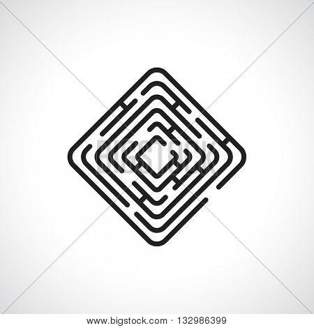 maze rectangle icon