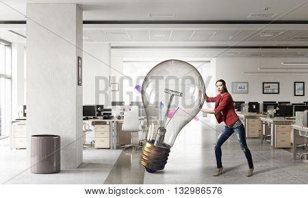 She is got great idea