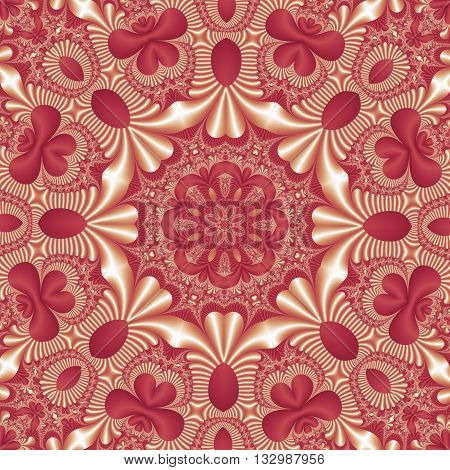 Fabulous mandala pattern for background. Collection - Magical Satin. You can use it for invitations notebook covers carpets phone cases postcards cards and so on. Artwork for creative design.