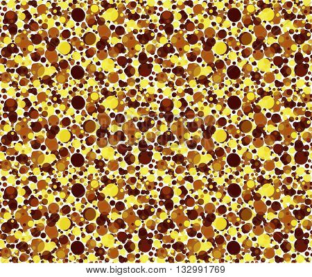 vector seamless pattern yellow and brown dots pattern textile pattern geometric pattern