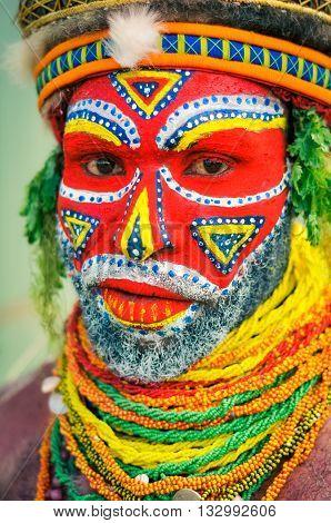 Beautiful Colours In Papua New Guinea