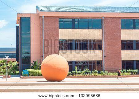 Modern Buildings Of Gaborone