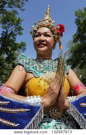 Thailand (thai) Culture Vertical Portrait