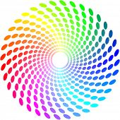 Vector color wheel for design