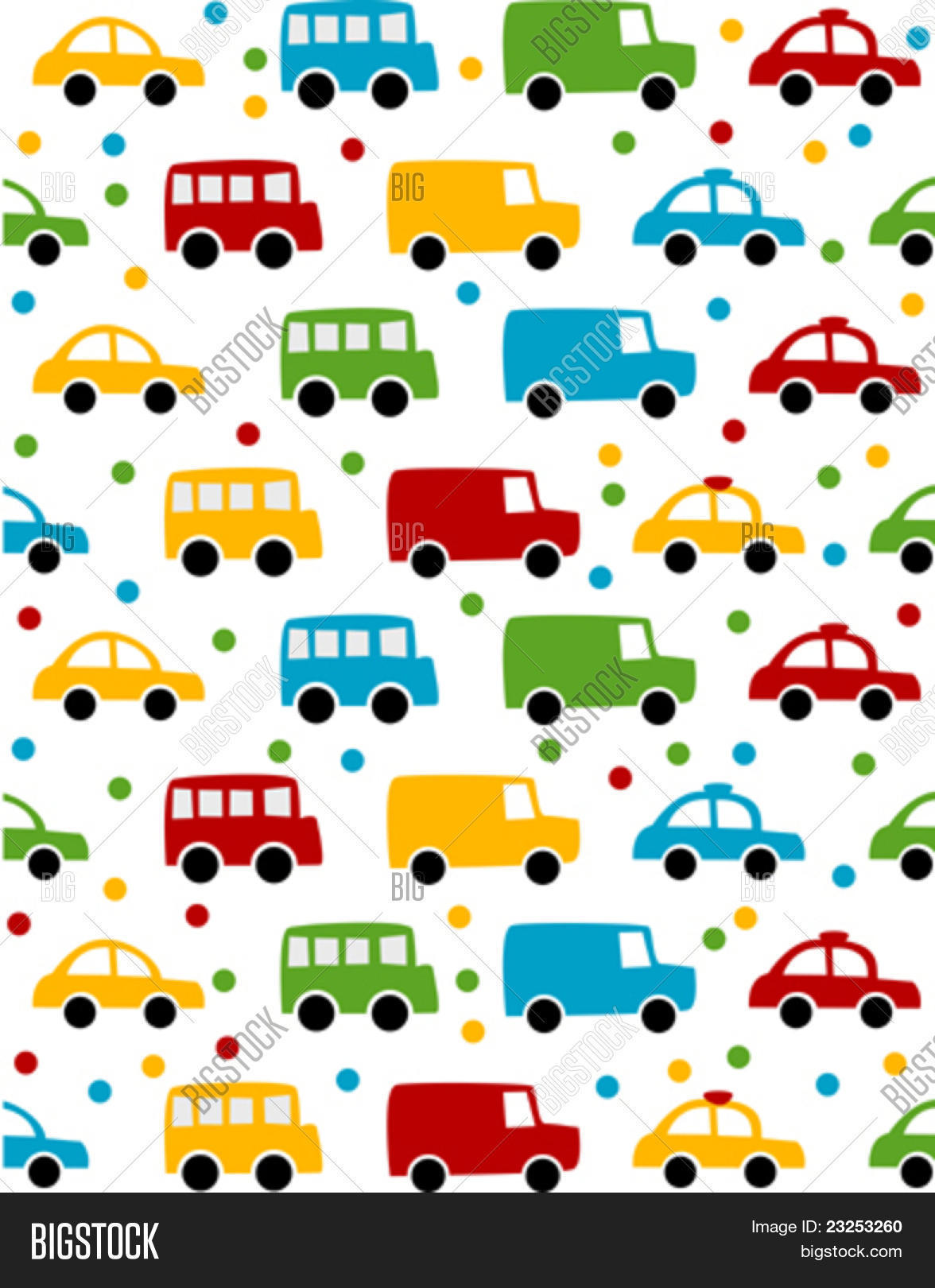 Boy Toys Background : Seamless toy car background baby vector photo bigstock