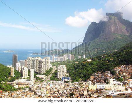 Sao Conrado And Favela Da Rocinha, Gávea, Rio De Janeiro