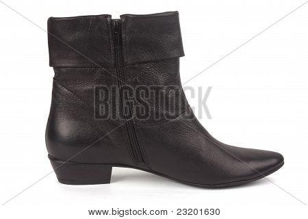 One Black Female Boot