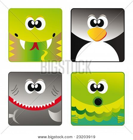 Wild Animals - Set Icon 3
