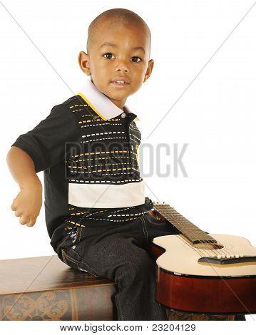 Tiny Guitarist