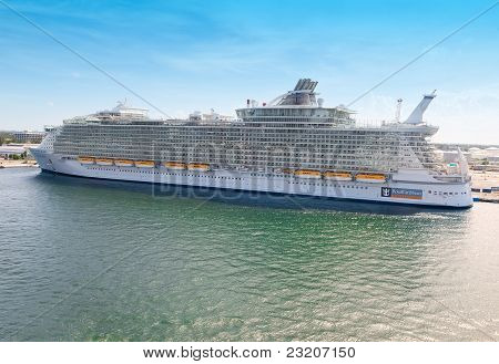 Allure Of The Seas In Port Everglades