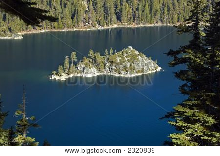 Lake Tahoe Emerald Bay Fannette Island