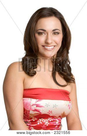Beautiful Smiling Lady