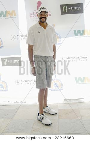 MOORPARK, CA - AUG. 29: Stephen Bishop arrives at the 4th annual Scott Medlock-Robby Krieger Concert & Golf Classic on Aug. 29, 2011 at the Moorpark Country Club in Moorpark, California.