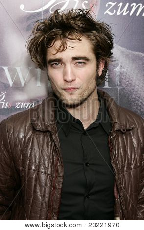 MUNICH, GERMANY - DEC 12: Robert Pattinson at the Twilight - fan event and autographing session on December 6, 2008 in Munich, Germany