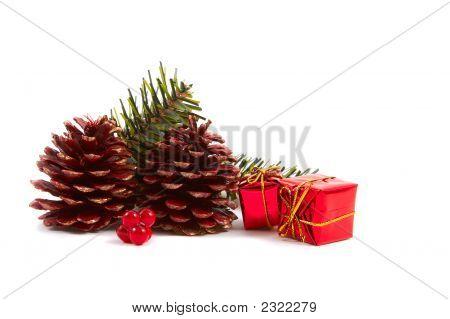 Christmas Pine Cones, Presents