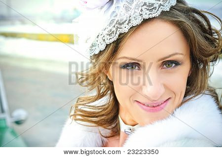 Portrait of the bride