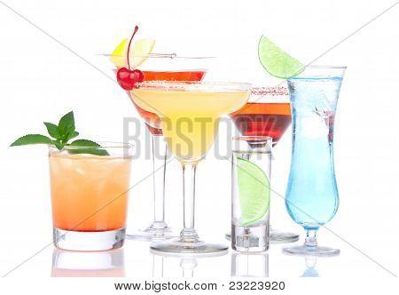 Cocktails Alcohol Drinks Spirits Mojito, Mai Tai, Margarita, Martini