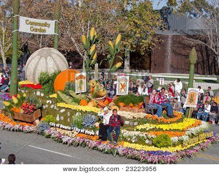 Tournament Of Roses 2010, City Of Duarte
