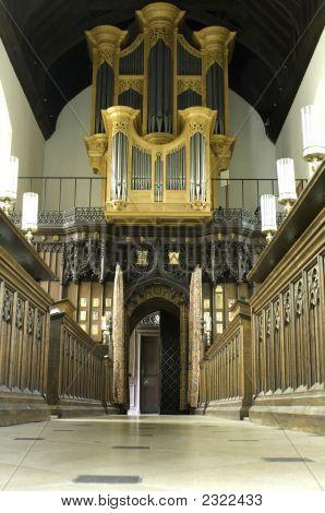 University Of Cambridge, St Mary Magdalene College Chapel Organ