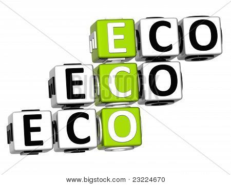 3D Eco Crossword