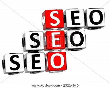 3D Seo Crossword