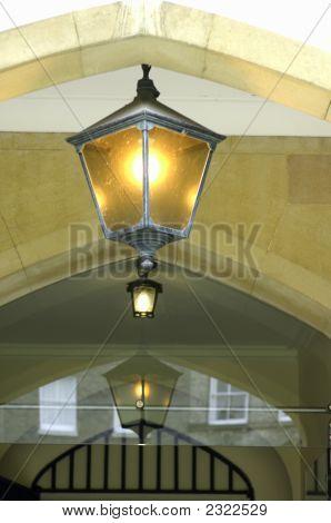 Universityof Cambridge, Sidney Sussex College Lamp