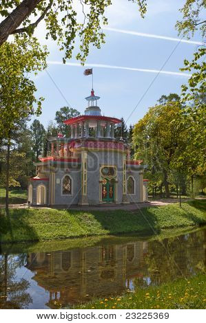 Pavilion in Chinese style in Tsarskoe Selo