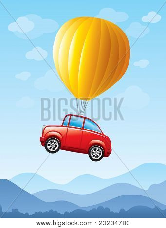 Car in the sky