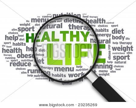 Lupa - vida saudável