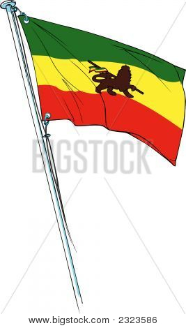 Rastafari Reggae Flag
