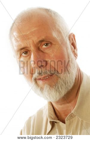Portrait Of A Senior