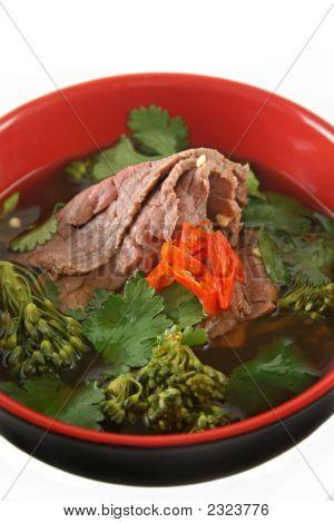 Soja y jengibre carne 5