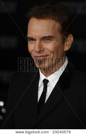LOS ANGELES - NOV 22: Billy Bob Thornton at the Premiere of 'Faster' held at Grauman's Chinese Theater in Los Angeles, California on November 22, 2010