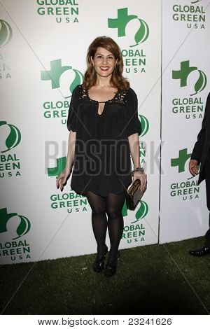 LOS ANGELES - MAR 3: Nia Vardalos at the Global Green USA 7th Annual Pre-Oscar Party 'Greener Cities for a cooler Planet at Avalon in Los Angeles, California on March 3, 2010