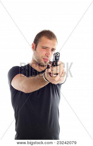Guy With Gun