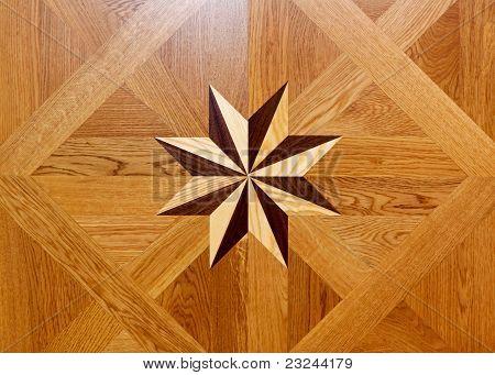 Estrela de madeira