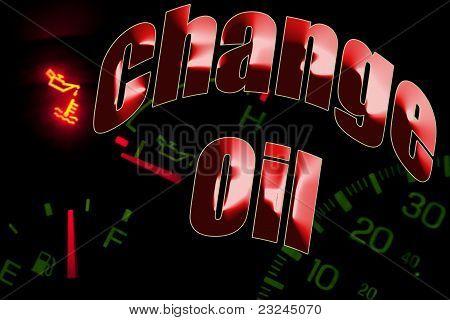 Change Oil Service Engine Light