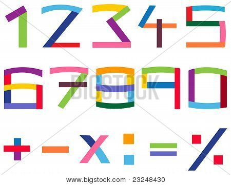 Colorful Number Set