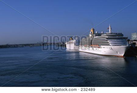 Cruise-ships.