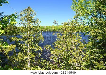 Pequeno lago de cabeça de cavalo - Wisconsin