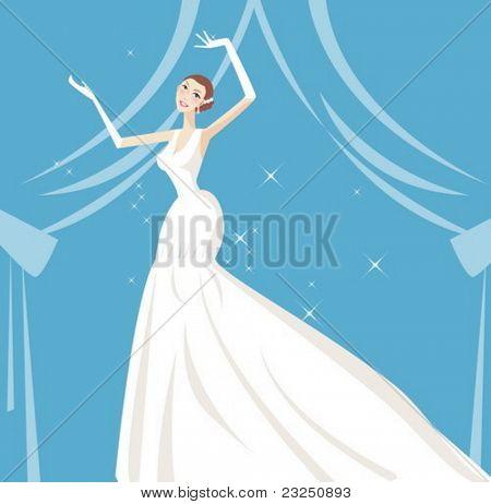 Schönheit Braut