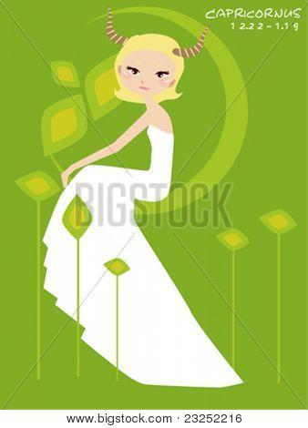 Capricornus bride