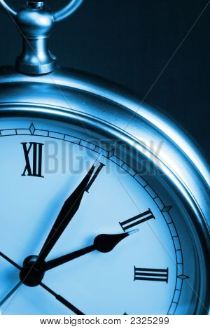 Blue Tone Time Clock