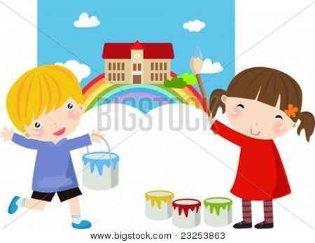 cute painters