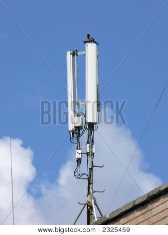 Antenas de la red GSM