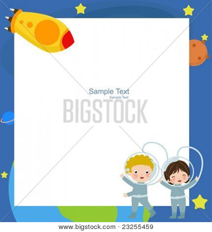 Astronaut Boy and Girl