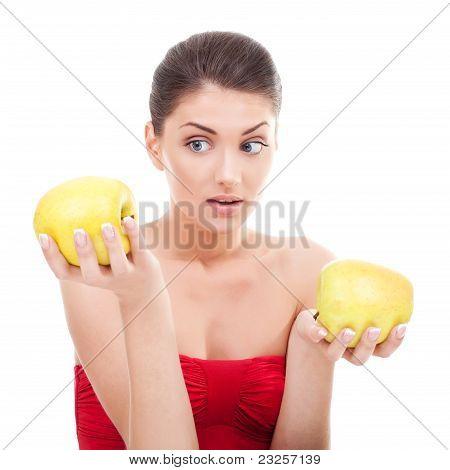 Woman Making A Choice